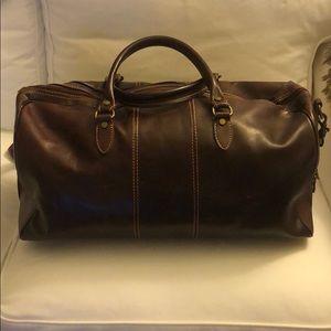 Floto Men's Leather Weekender/Carryall